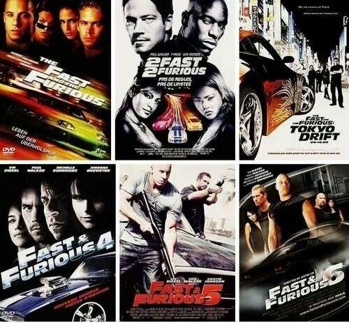 All the fast and furious : Favoriete movies and serries ...