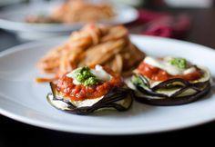 Traditional Eggplant Parmesan | Side Dishes | Pinterest
