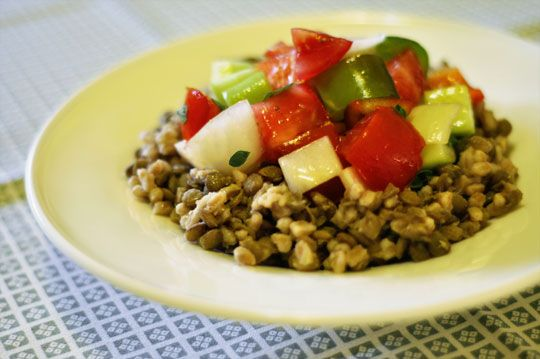 Recipe: Late Summer Lentil Salad