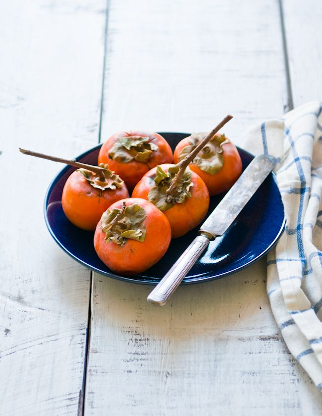 Persimmons | Recipes for Fresh Fruits | Pinterest