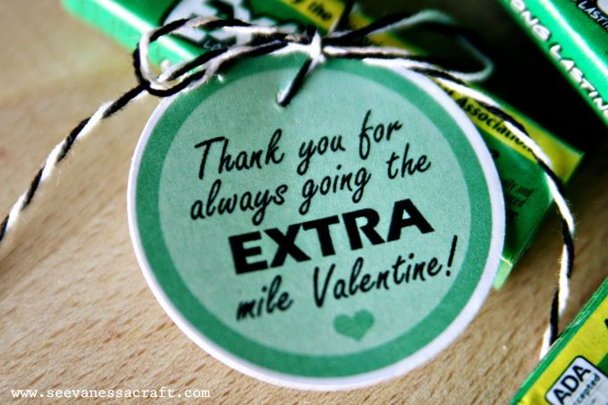teacher extra gum appreciation | just b.CAUSE