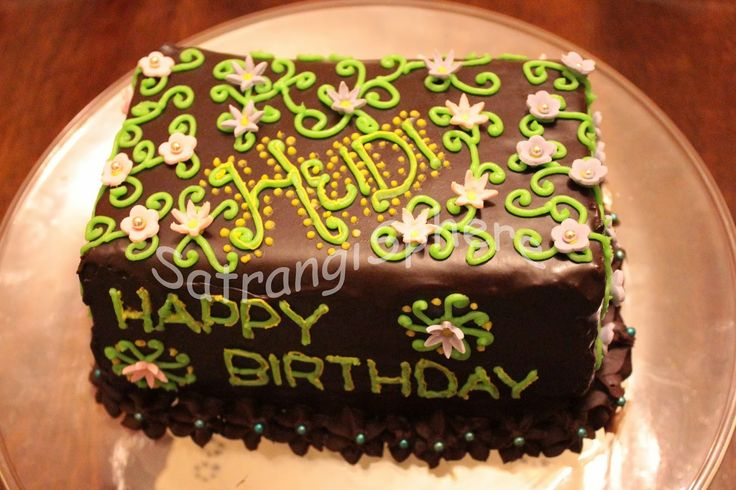 Cake Images For Didi : Happy Birthday Heidi Didi! SatrangiSphere Cakes Pinterest