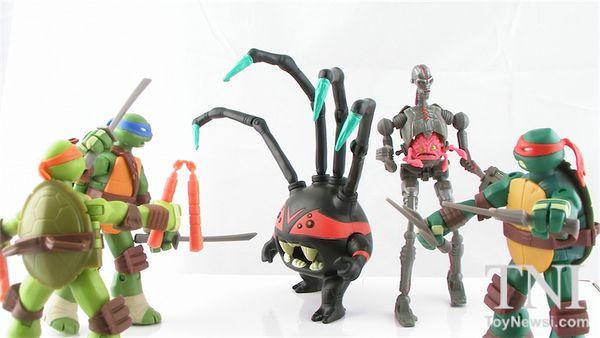 Nickelodeon tmnt spider bytez in hand figure images tmnt action