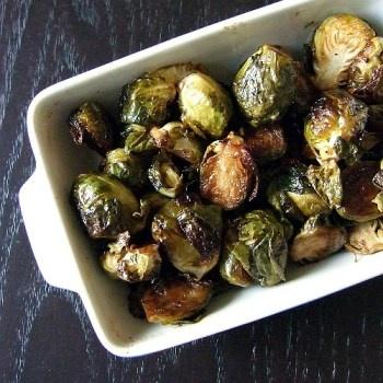 brussels sprouts are yummy, they definetly don't deserve their bad ...