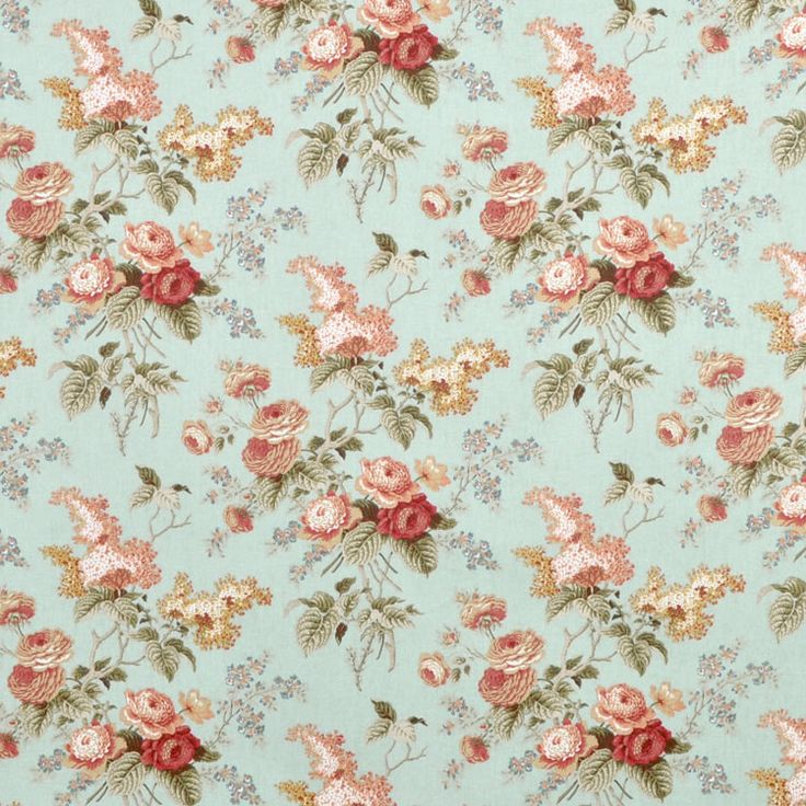 Waverly vintage fabric for Vintage fabric
