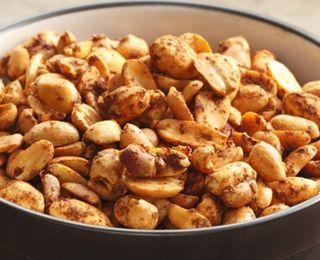Chile-Lime Peanuts | diabetes friendly foods | Pinterest
