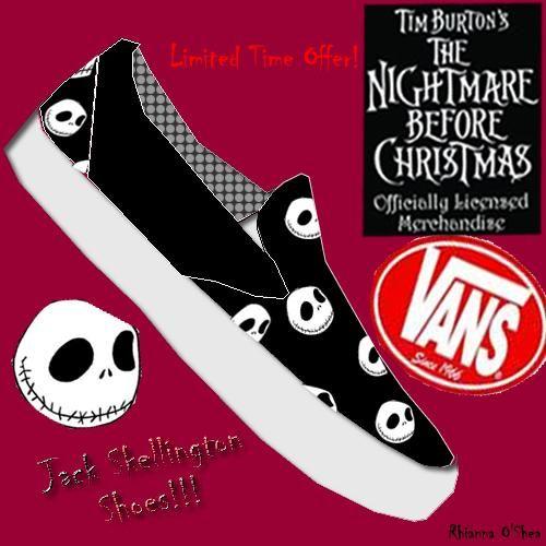 Nightmare Before Christmas Vans