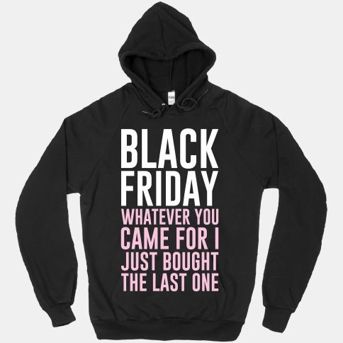 I so want to get this and wear black Friday!
