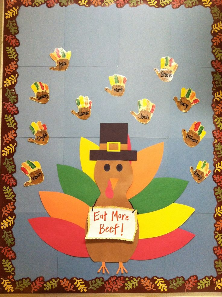 thanksgiving bulletin board ideas for preschool | Thanksgiving ...