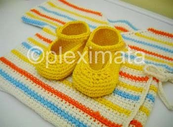 Crochet Pattern Central - Free Baby Layettes, Sets