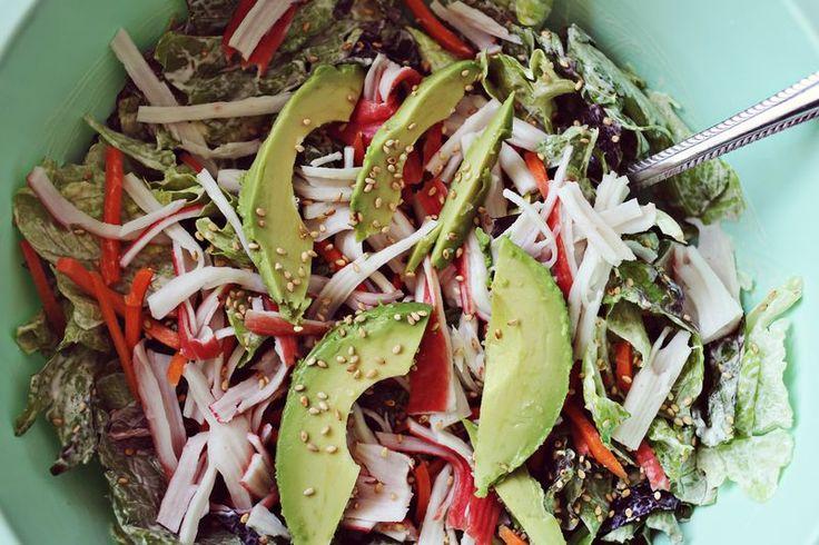 Sushi salad | Salads | Pinterest