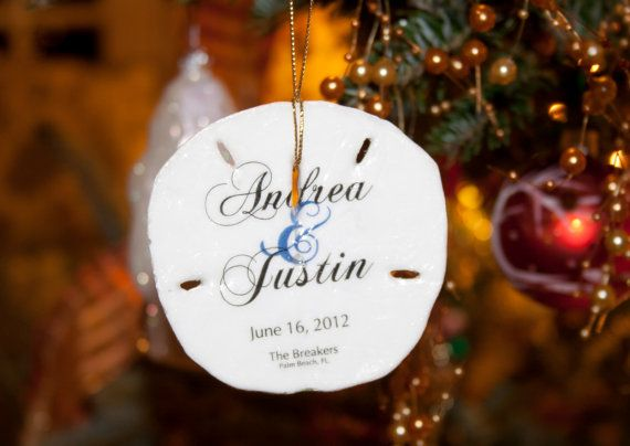 sand dollar christmas ornament wedding favor by alopiano on etsy 15