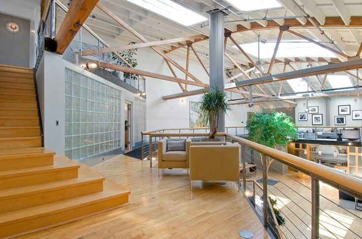 Warehouse Converted Into Luxury Loft Apartment In San