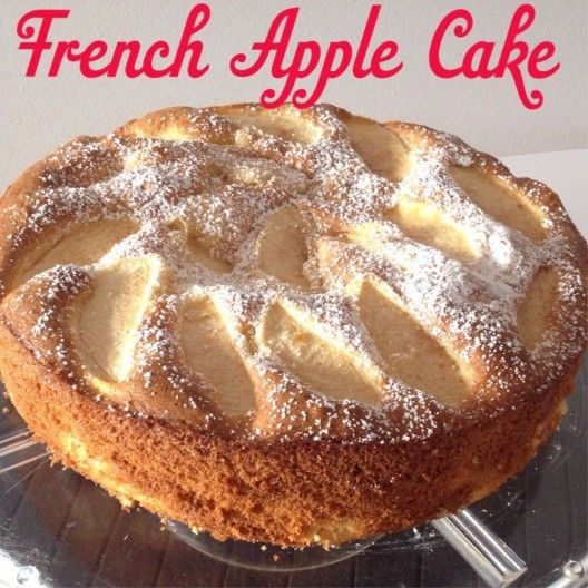 French Apple Cake | Desserts | Pinterest
