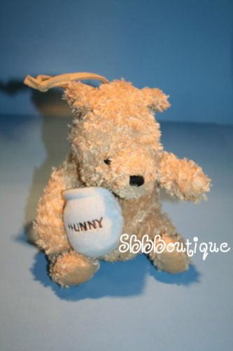 Disney nursery crib : Musical plush pooh bear hunny pot