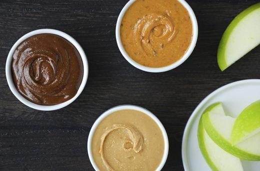 Homemade Peanut Butter Three Ways Recipe