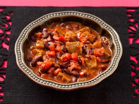 Red Bean and Beef Chili- using slices of sirloin instead of ground ...