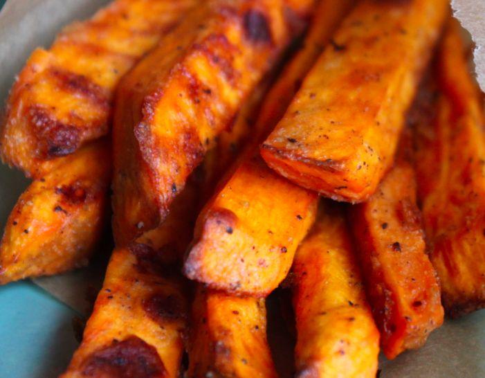 Crispy Baked Sweet Potato Fries | Recipes | Pinterest