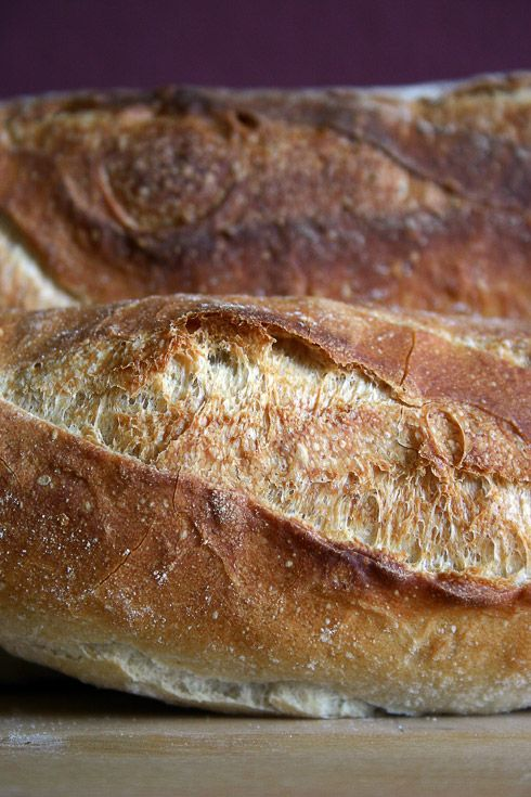 Baguettes mit Poolish ≈ | Bakery | Pinterest