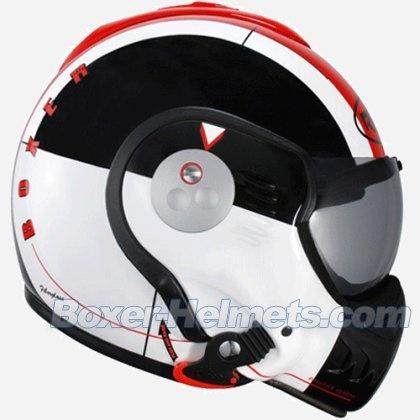 roof boxer v8 helmet star red cafe racer lust pinterest. Black Bedroom Furniture Sets. Home Design Ideas