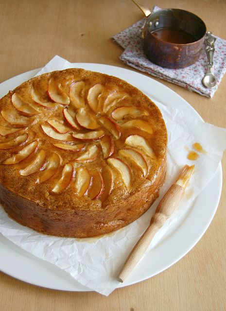 French apple cake | Dough and batter make bread, pastries, and carb-y ...