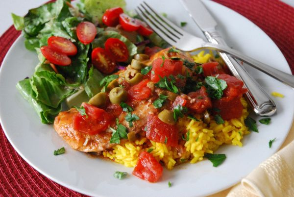 Chicken Basquaise has a French and Spanish heritage.