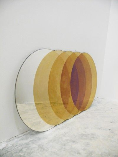 david derksen design. oxidized gradient mirrors.