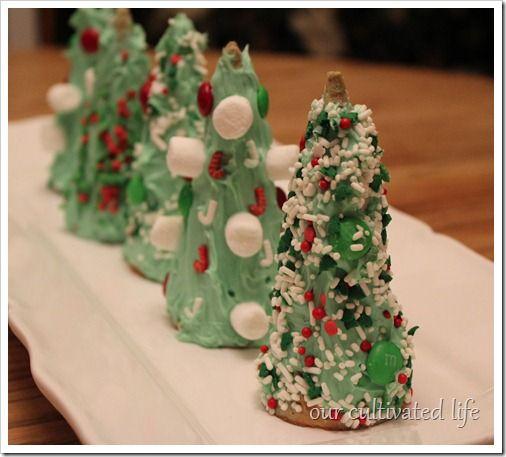 Christmas Tree Craft Ice Cream Cone : Ice cream cone christmas tree holiday ideas
