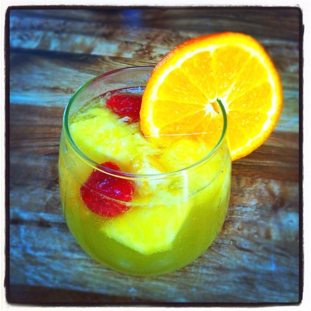Pineapple Sangria Recipe — Dishmaps