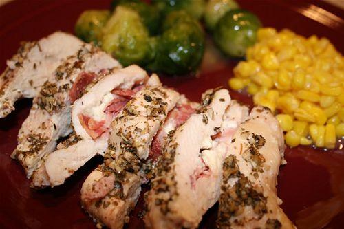 Feta and Bacon Stuffed Chicken Breasts | Chicken, Boneless | Pinterest