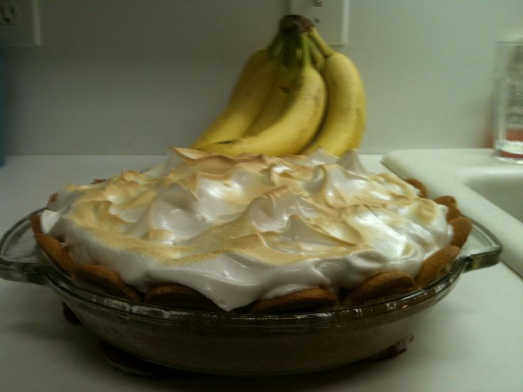Banana Pudding Pie | Favorite foods | Pinterest