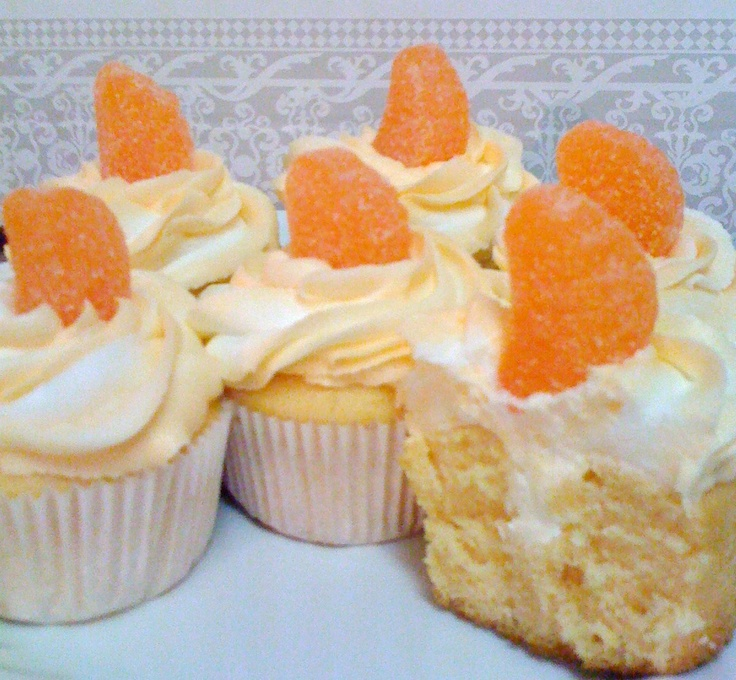 Orange Creamsicle Cupcakes | Cakes, Cupcakes and Frostings | Pinterest