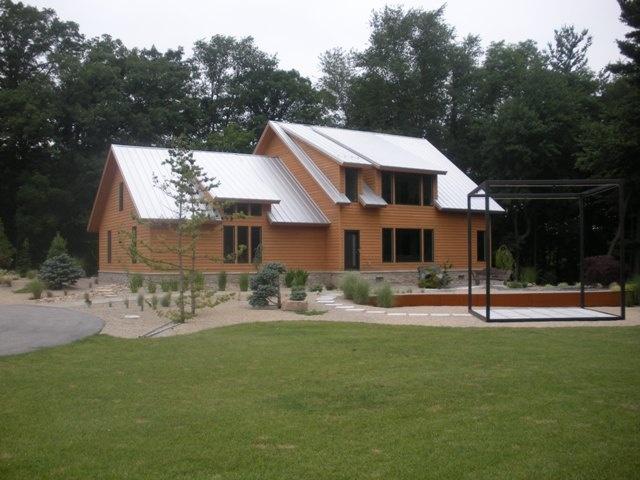 Unique Metal Roof And Cedar Siding Home Exteriors