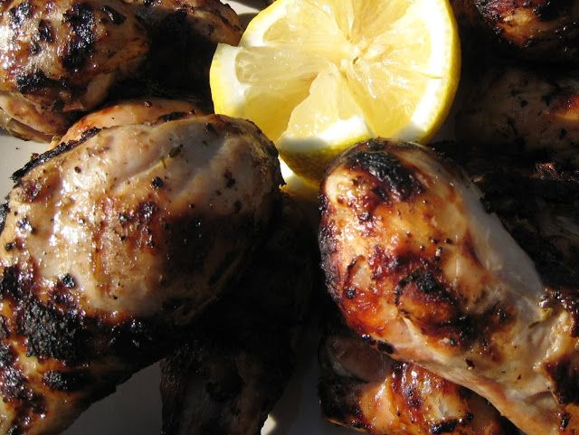 ... Heart: Lemon and Oregano Grilled Chicken Drumsticks with Tzatziki