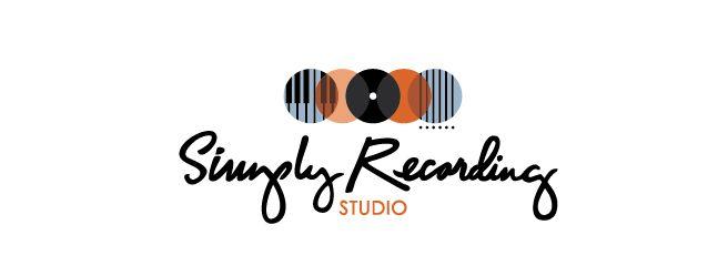 Simply Recording Studio Logo « Ampersand | logos | Pinterest: pinterest.com/pin/209769295117999730