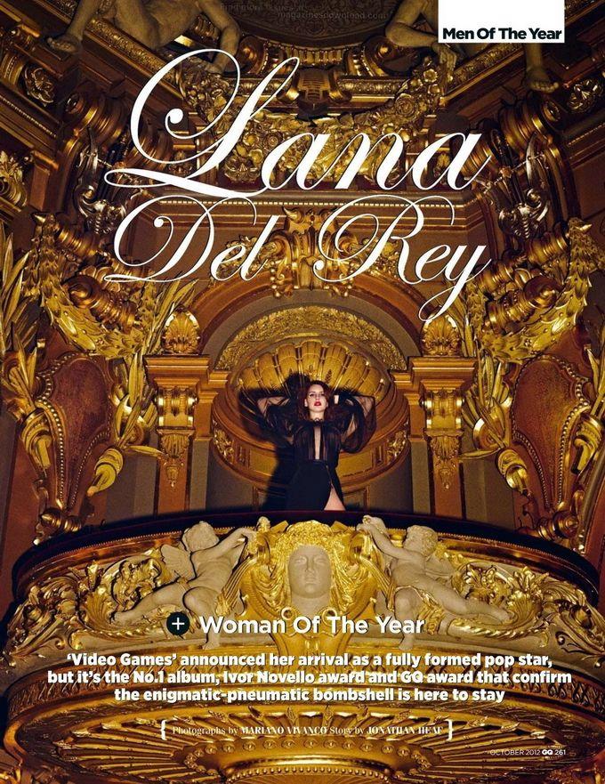 Lana Del Rey GQ UK