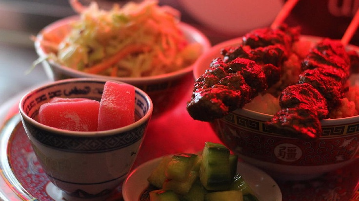 Ume Yaki Bowl: Natural chicken or beef, with Wasabi Cole Slaw ...