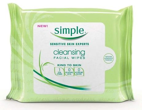 Simple Face Products on Simple Cleansing Facial Wipes   Products I Love