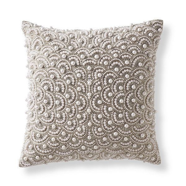 Decorative Pillow With Pearls : Pearl Decorative Pillow The Pearl Pinterest