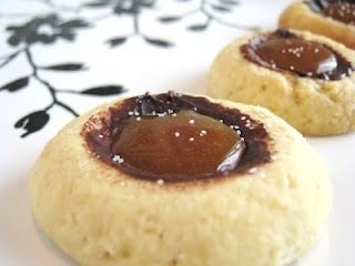 Chocolate Caramel Thumbprints | Cookies/Candy | Pinterest