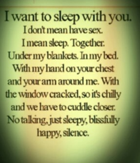 quotes #cuddle #sweet #cute // this.