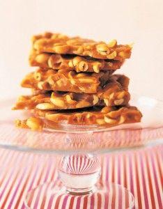 Peanut Brittle and Peanut Brittle Caramel Ice Cream Pie