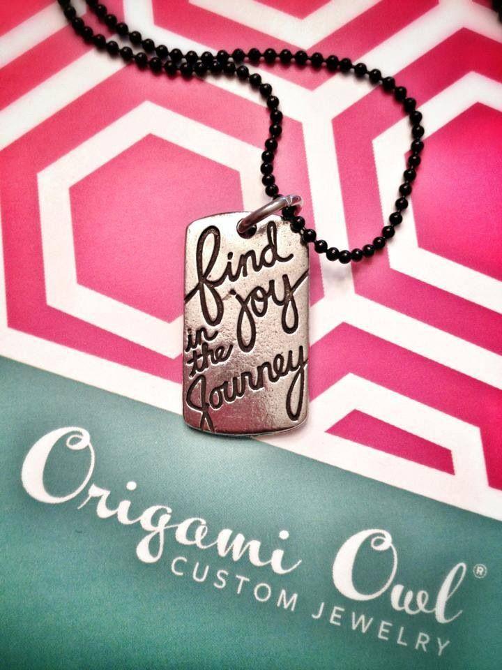 Find joy in the journey tag www staciemarshman origamiowl com www