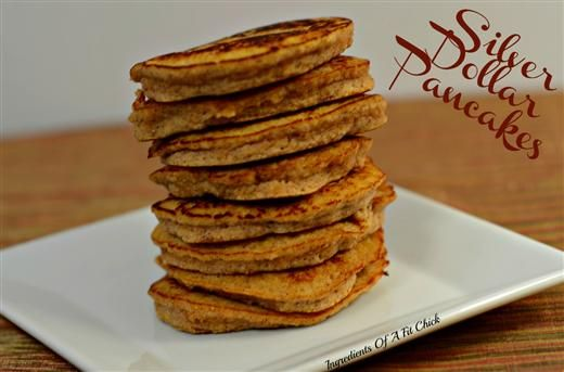 Silver Dollar Pumpkin Pancakes - The Kitchen Table - The Eat-Clean ...