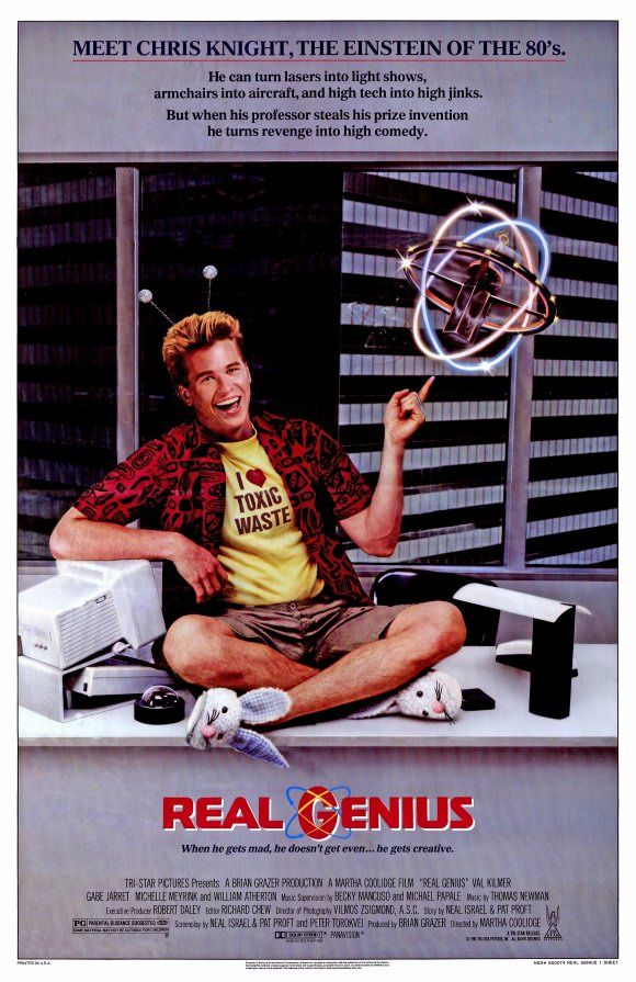 "Real Genius (1985) - ""Well, I guess it goes from God, to Jerry, to you, to the cleaners. Right, Kent?"""