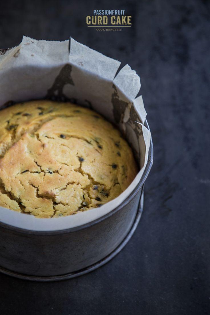 Passionfruit curd cake | Recipe