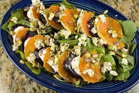 beet and orange salad   Favorite Recipes   Pinterest