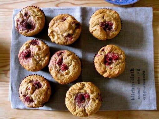 are you my new breakfast? raspberry orange almond muffins (vegan)
