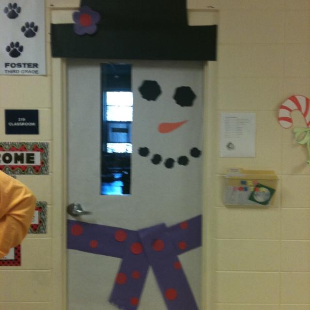 Classroom Door Decor For Winter ~ Winter classroom door decoration