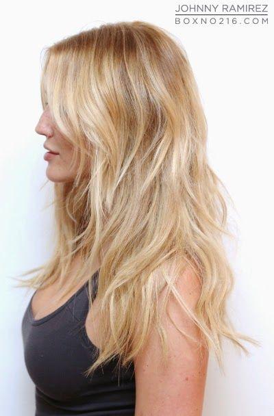 Hair Color by JOHNNY RAMIREZ   Blondes   Pinterest